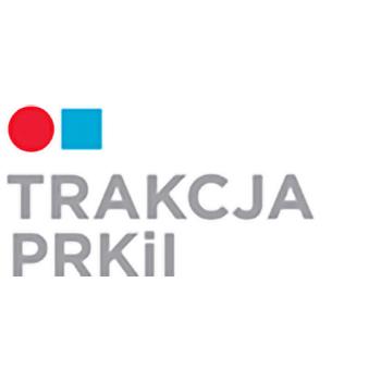 logotyp trakcja prkil